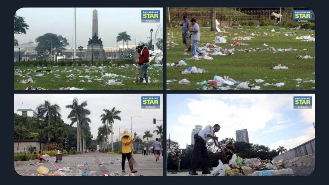 "Pilo Hilbay calls Filipinos ""baboy nation"" after leaving a mess at the Luneta"