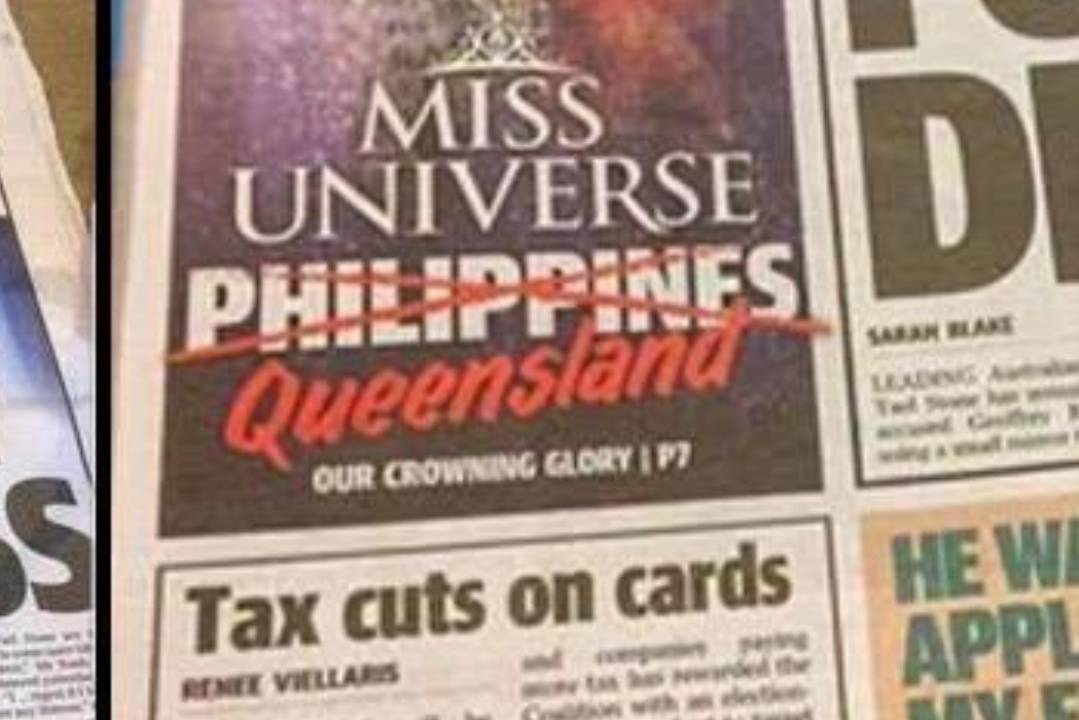 Aussies claiming #MissUniverse crown!