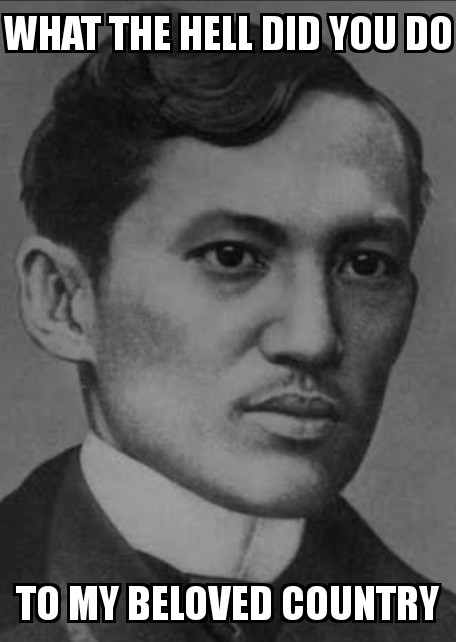 A message to Mr. J. P. Rizal