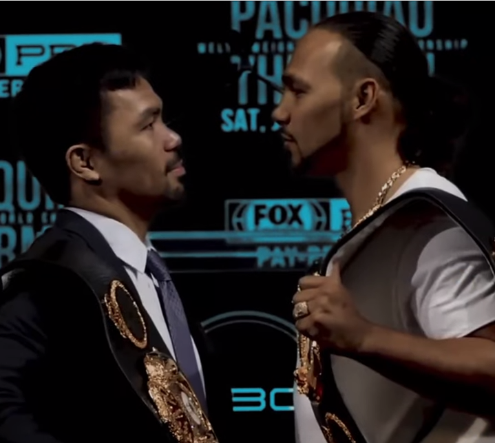Keith Thurman Punches Pinoy Pride